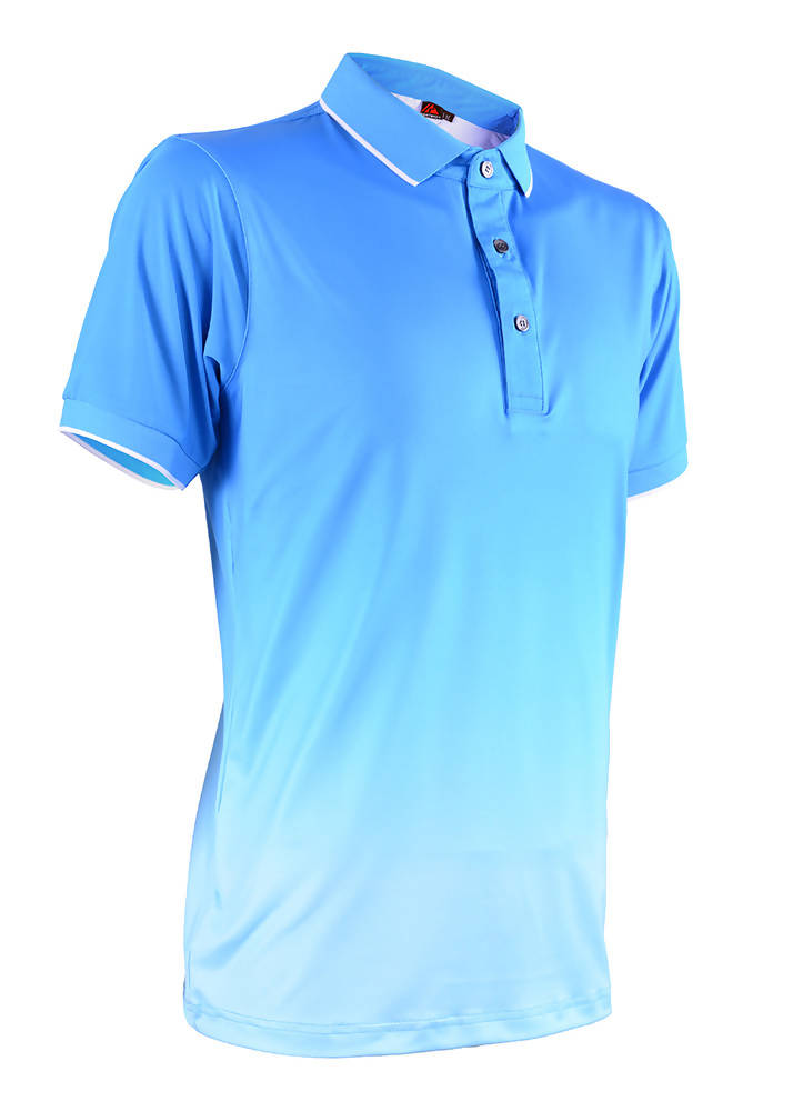 RIGHTWAY - Men's Outréfit Collared Malibu Blue