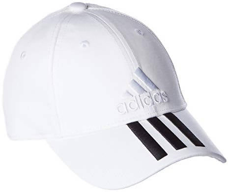 ADIDAS - Training Six-Panel Classic 3-Stripes Cap - White BK0806