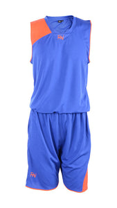 RIGHTWAY - Basketball Jersey - Royal Blue/ Orange