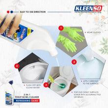 Load image into Gallery viewer, OSUKI - Kleenso Toilet Bowl Cleaner 3 IN 1 - 600ML