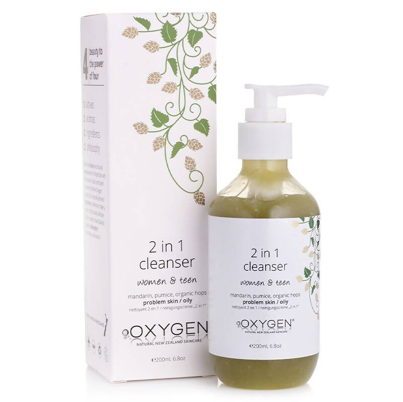 OZWIN - Oxygen Women & Teen 2 in 1 Cleanser