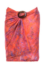 Load image into Gallery viewer, ARIZALI - Mini Sarong V Smoky - Orange & Purple