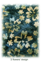 Load image into Gallery viewer, ARIZALI - Square Scarf - 2 Flowers