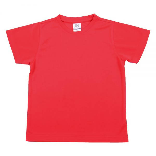 RIGHTWAY - Outréfit Kids Round Neck - Tomato Red