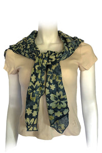 ARIZALI - Square Scarf - 2 Flowers