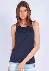 FUNFIT - Flow Freely Tank Top in Navy