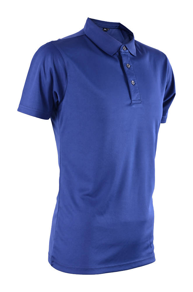 RIGHTWAY - Outréfit Reflective Design Polo - Navy Blue