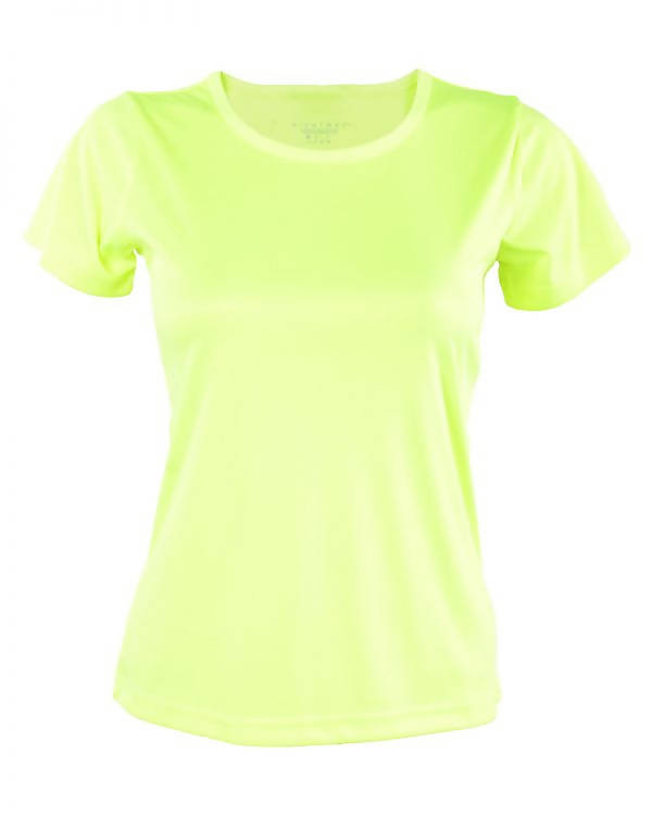 RIGHTWAY - Outréfit Round Neck Volt Green