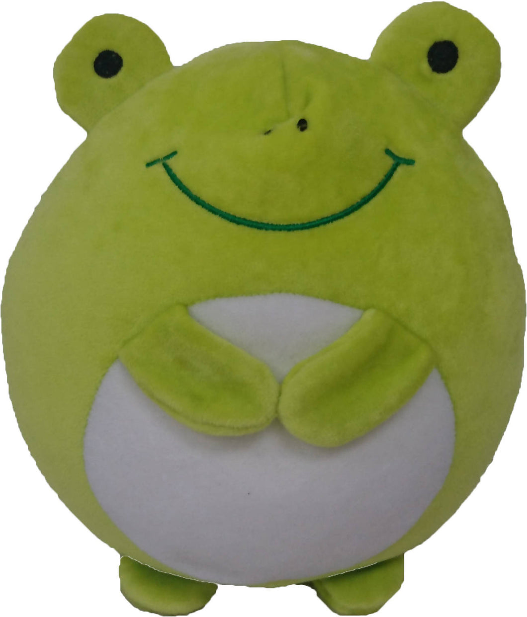 HANLOW - Animal Supersoft cushion - Green Frog