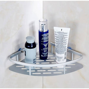 OSUKI - Bathroom Corner Shelf Adhesive Aluminium Rack