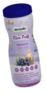 ECOPEAKS - Natufoodies Rice Puff - Blueberry (60g)
