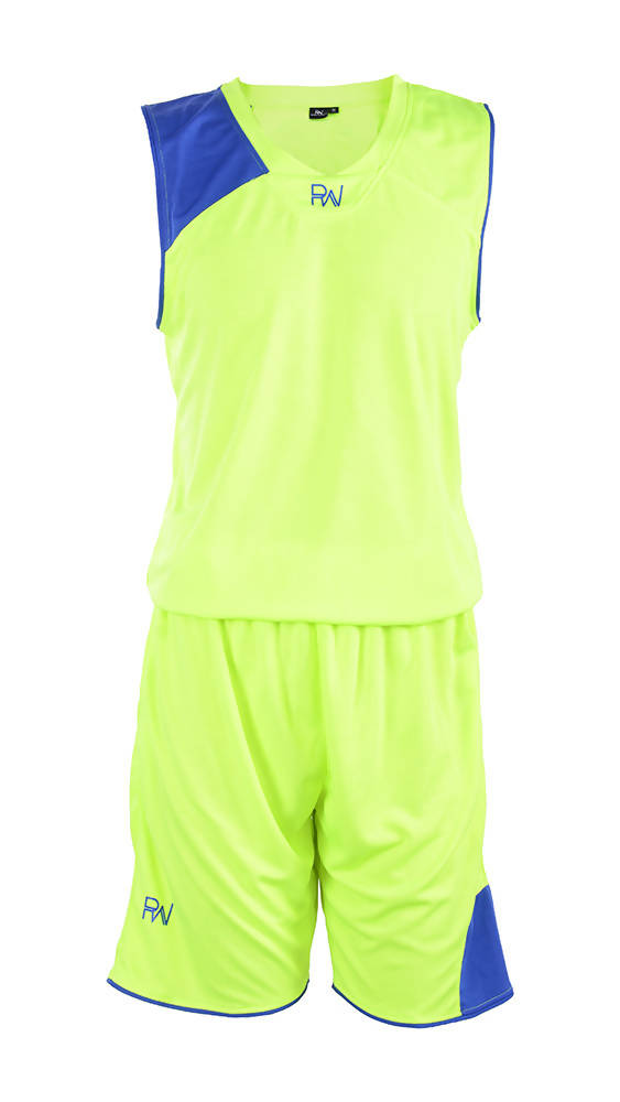 RIGHTWAY - Basketball Jersey - Green/ Royal Blue