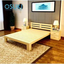 Load image into Gallery viewer, OSUKI - Pine Wood Single Size Bed Frame 190 X 90CM