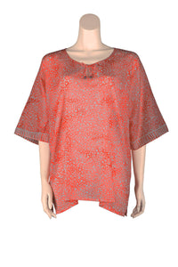 ARIZALI - Kaftan Butterfly - Orange Foggy