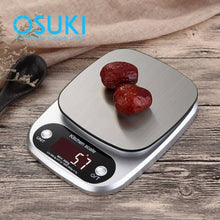 Load image into Gallery viewer, OSUKI - Food Weight Scale Digital 10KG-1G (Free Battery)