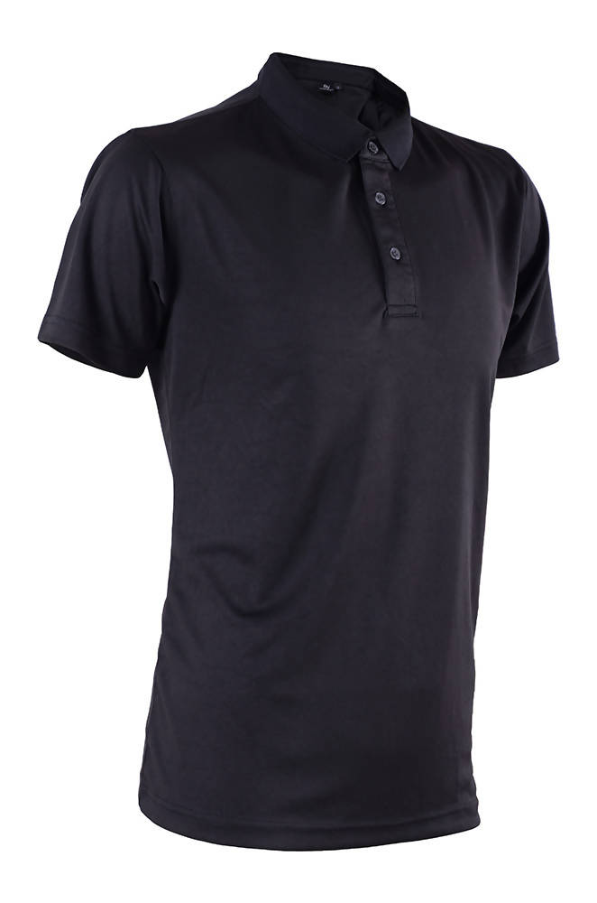 RIGHTWAY - Outréfit Reflective Design Polo - Pirate Black