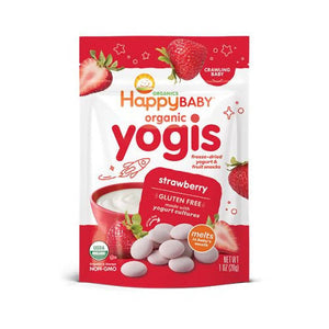 ECOPEAKS - Happy Baby Yogis -Strawberry (28g)