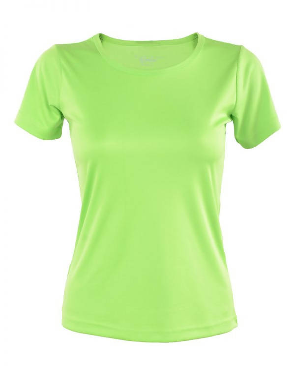 RIGHTWAY - Outréfit Round Neck Apple Green