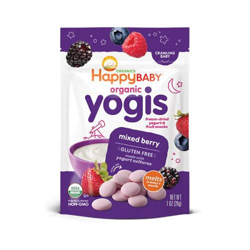 ECOPEAKS - Happy Baby Yogis -Mixed Berry (28g)
