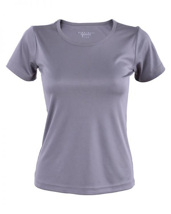 RIGHTWAY - Outréfit Round Neck Knight Grey