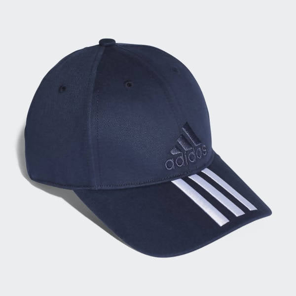 ADIDAS - Training Six-Panel Classic 3-Stripes Cap - Navy BK0808