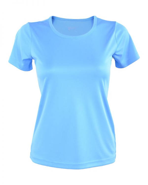 RIGHTWAY - Outréfit Round Neck Ocean Blue