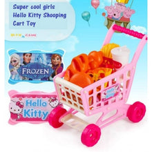 Load image into Gallery viewer, OSUKI - Toys Creative Shopping Cart (HELLO KITTY)