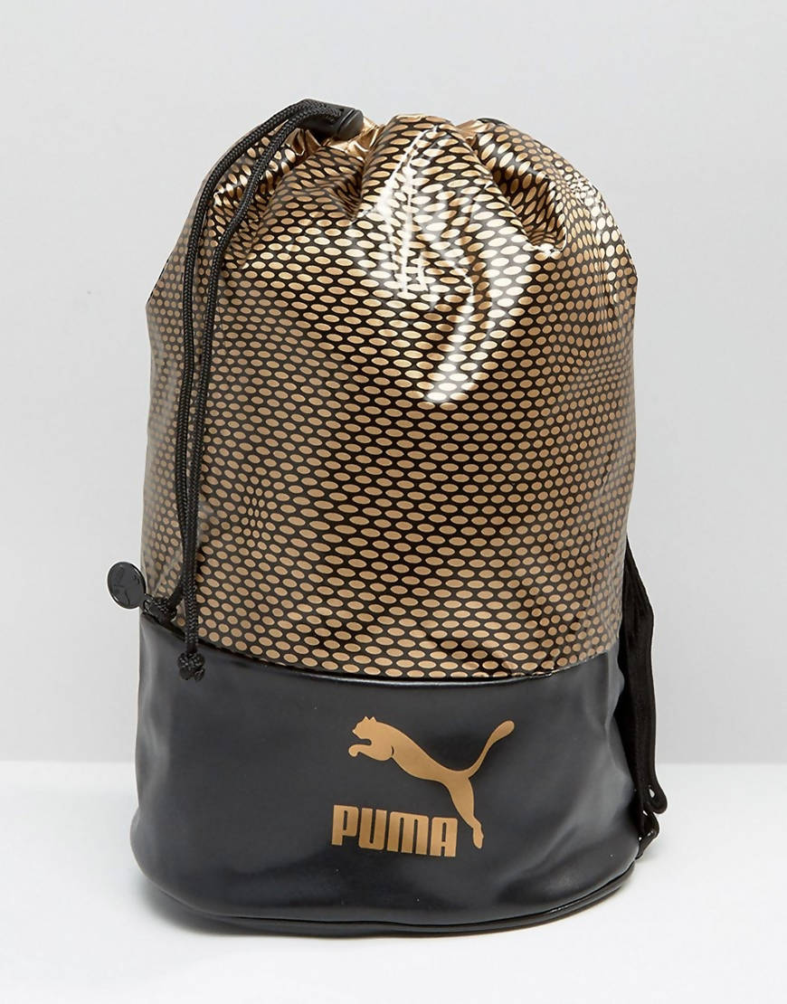 Puma Archive Bucket Bag (Gold)