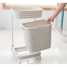 Load image into Gallery viewer, OSUKI - Flexible Laundry Pulley Basket (WHITE)