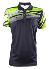 Load image into Gallery viewer, RIGHTWAY - Men's Outréfit Collared Black/ Volt Green