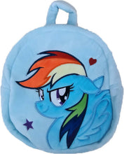 Load image into Gallery viewer, HANLOW - Fun 24cm Plush Backpack - MLP / Blue