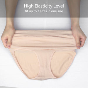 SHAPEE - High Waist Maternity Brief - Beige (2pcs)