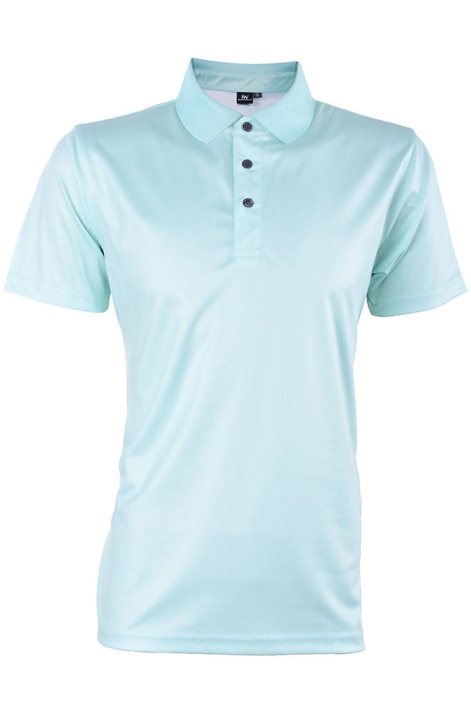 RIGHTWAY - Outréfit Reflective Design Polo Icy Mint