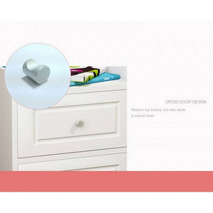 OSUKI - Japan Quality Modern Bedside Drawer Table (WHITE)