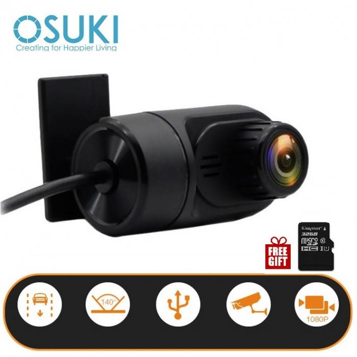 OSUKI - HD Car Camera USB (Free 32GB Memory Card)