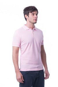 RIGHTWAY - Signature Polo Unisex - Stylish Pink/ White