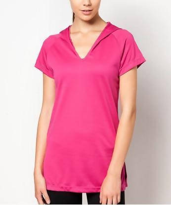 FUNFIT - Active Core Studio Shirt in Hot Pink