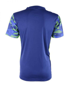 RIGHTWAY Outré fit Sublimation Round Neck Navy Blue
