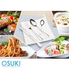 Load image into Gallery viewer, OSUKI - Stainless Steel Dining Set Fork Spoon Knife Utensil (4 IN 1)
