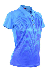 RIGHTWAY - Outréfit Reflective Collared Sublimation Royal Blue