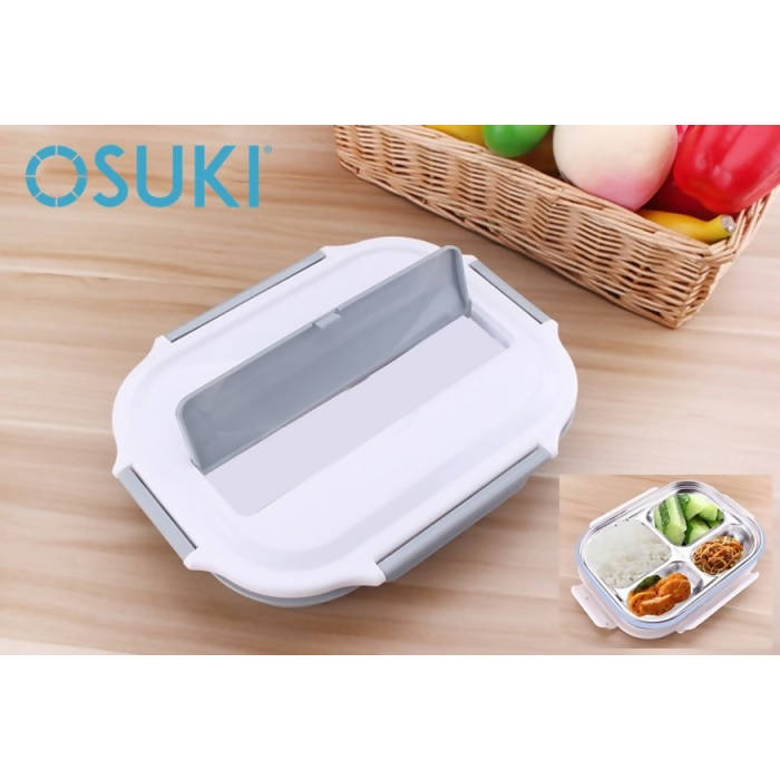 OSUKI - Stainless Steel Insulation Sub Grid Lunch Box