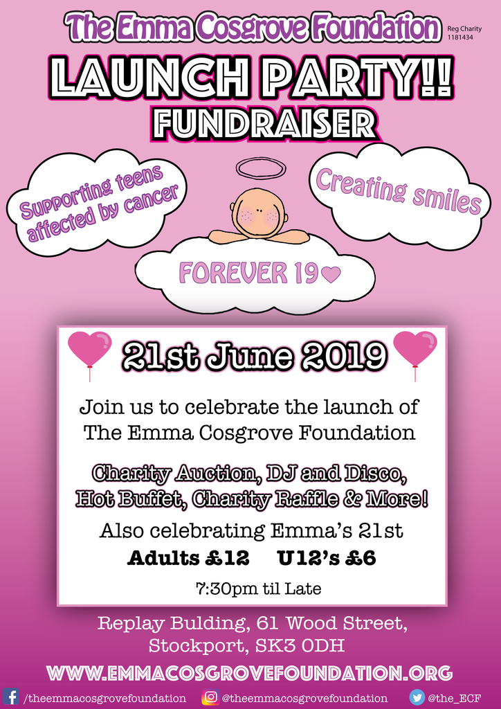 The Emma Cosgrove Foundation Launch Party Ticket