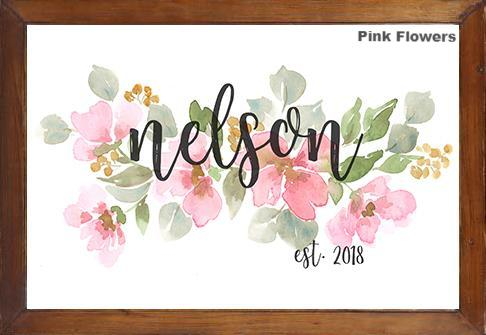 Custom Flower Paintings