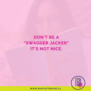 "Don't be a ""swagger jacker"". It's not nice."
