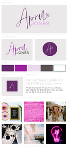 April Jones Pre-Made Brand