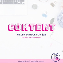 Content Filler Bundle - 20% off