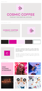 Cosmic Coffee Pre-made Brand