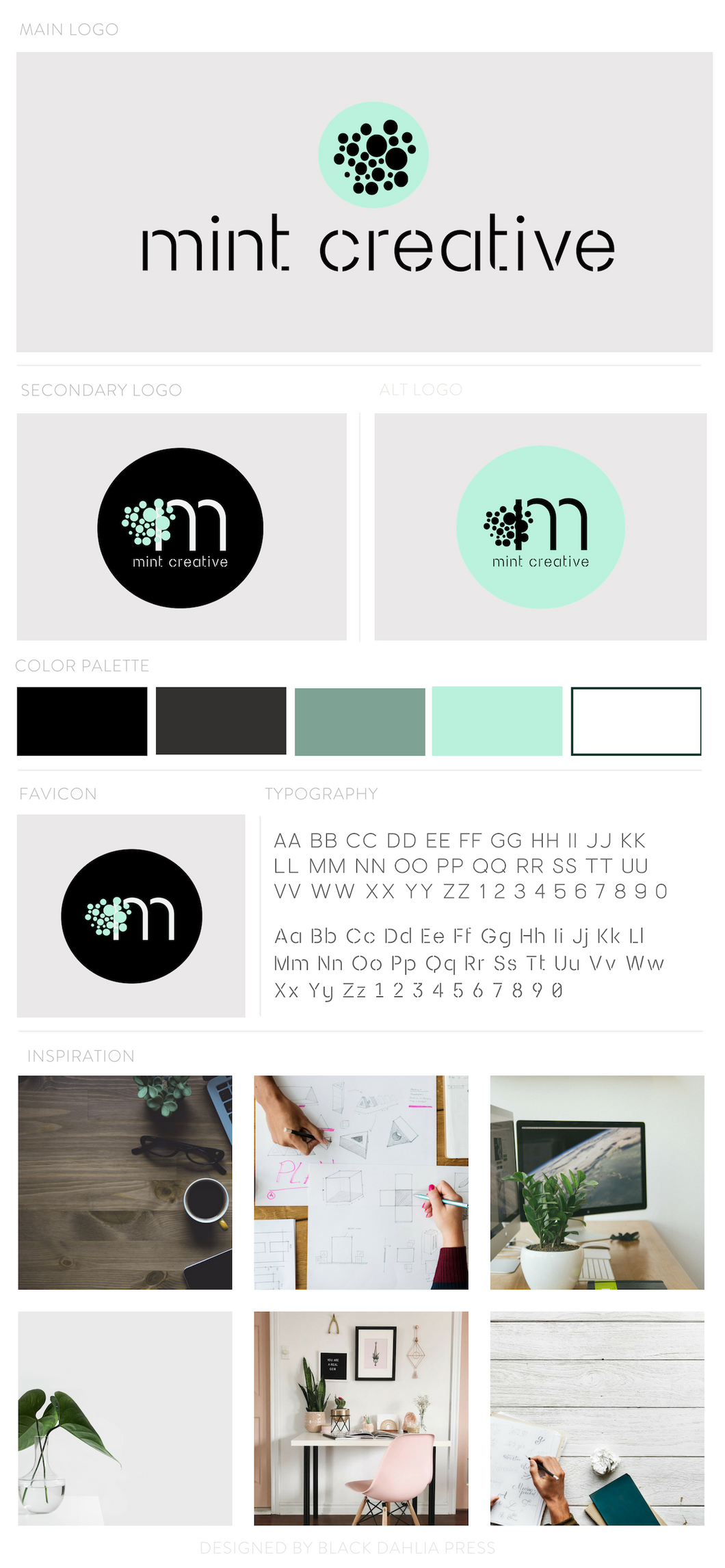 Mint Creative Pre-made Brand