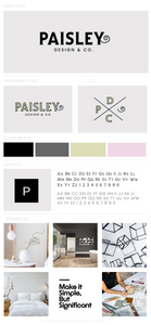 Paisley Design & Co Pre-Made Brand