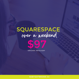 Squarespace Over A Weekend